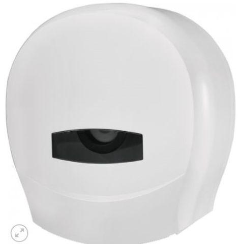 DISPENSER JUMBO ROLL SINGLE WHITE (WHJRS) EA