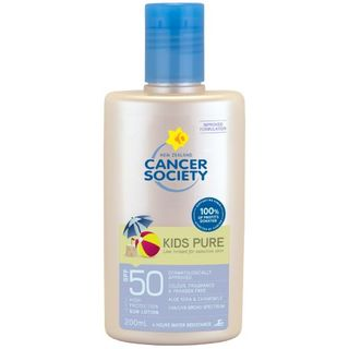 CANCER SOCIETY SPF50 KIDS PURE LOTION BOTTLE 200ML EA