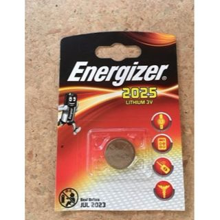 ENERGIZER COIN BATTERY LITHIUM CR2025 3V BL/1