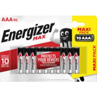 ENERGIZER MAX BATTERY AAA BL/10 PROMO