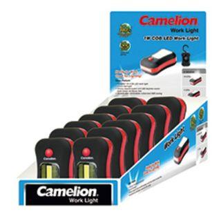 CAMELION TRAVLITE LED+ 3W COB (AAA/3) EA