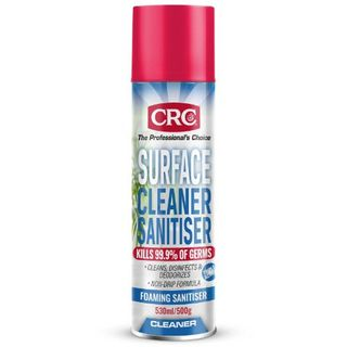 CRC SURFACE CLEANER AND SANITISER 530ML/500GM EA