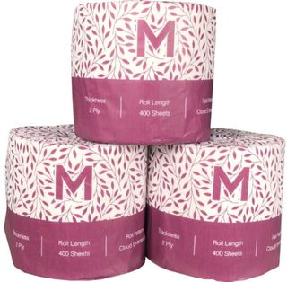 LUXURY WRAPPED TOILET TISSUE 2PLY 400 SHEETS (MPH27230) BOX/48