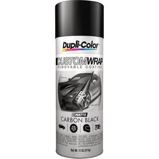 DUPLI-COLOR CUSTOM WRAP - MATTE CARBON BLACK 311G EA