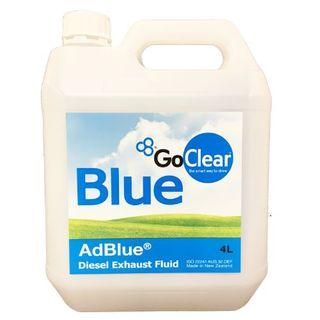 GO CLEAR AD BLUE DIESEL EXHAUST FLUID 4L EA