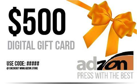 Gift Voucher $500.00