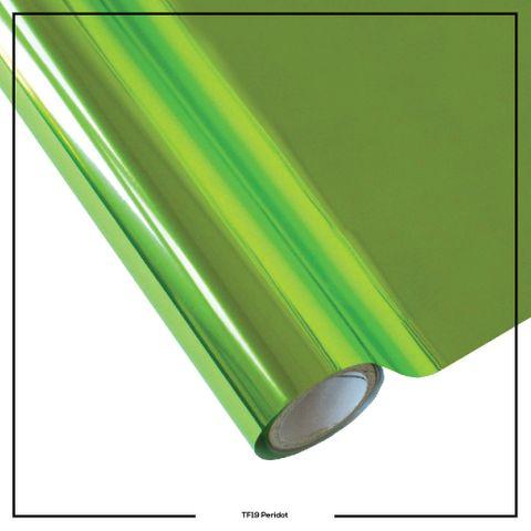 19 T/ Foil Peridot x 7.62m