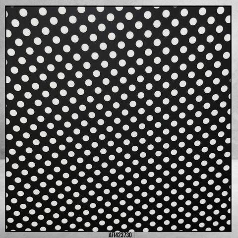 4237 Polka Dots Black