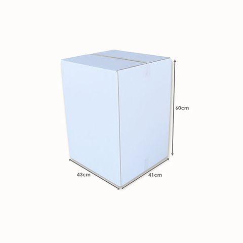 White Tea Chest Carton L435mm x W410mm x H600mm