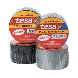 4050 PVC Joining Tape Silver 48mm x 30m