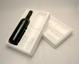 Post Pak Wine Styrene 2 Bottle