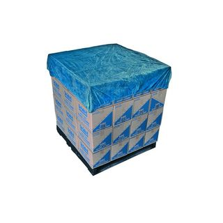 Blue Waterproof Pallet Cover 1.4m x 1.4m
