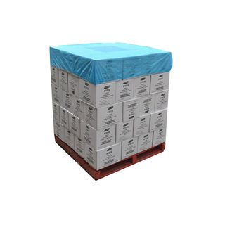 Blue Breathable Pallet Cover 1.4m x 1.4m