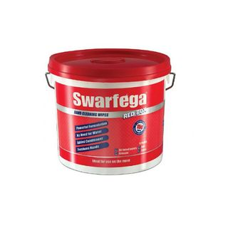 Swarfega Red Box Wipes 150/Tub 4 tubs/carton