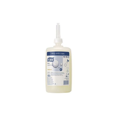 420501 Tork PremSoap Mild 1000ml 6/carton