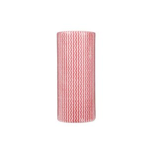 BWR2143 Regular Duty Wipes Red 30cm x 65m 4 Rolls/Carton