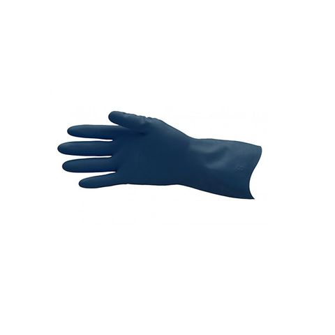 Process Blue Rubber Gloves Size 8-8.5