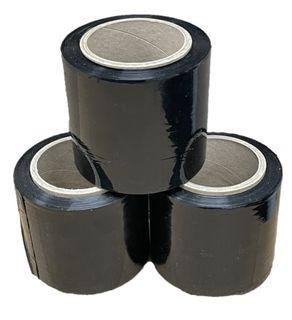 Bundling Wrap Black 100mm x 250m x 23um