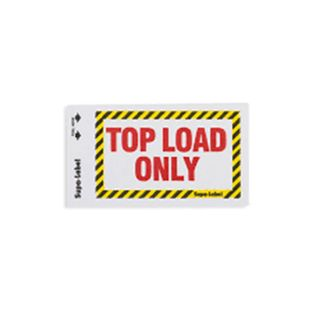 Top Load Only Supa-Labels 75mm x 130mm  500/ box