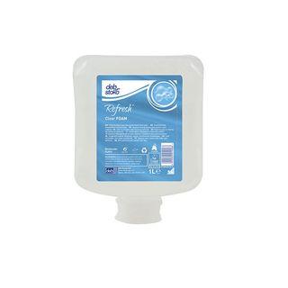 Refresh Clear Gentle Foaming Handwash (Perfume and Dye Free) 6 x 1L Cartridges