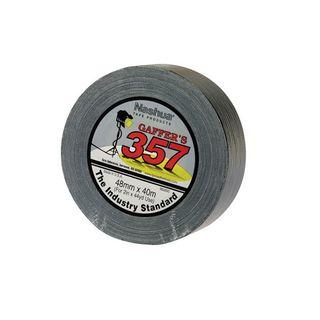 357 Nashua Gaffer Tape Black 24mm x 40m