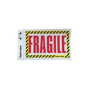 Fragile Supa-Labels 75mm x 130mm 500/ box