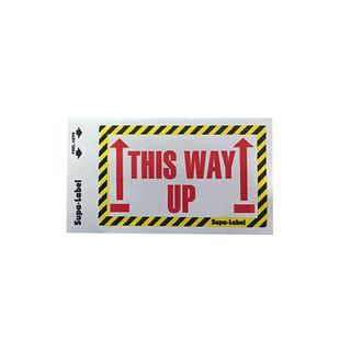 This Way Up Supa-Labels 75mm x 130mm 500/ box
