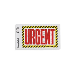 Urgent Supa-Labels 75mm x 130mm  500/ box
