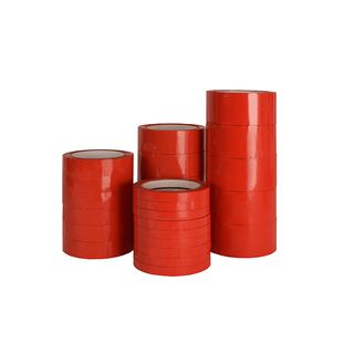 C20 PVC Red Tape 48mm x 66m 36/carton
