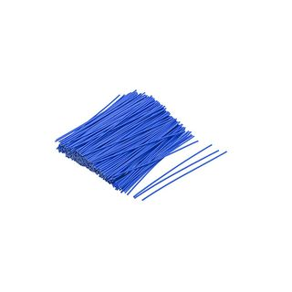 Blue Vinyl Coated Twist Ties 100mm