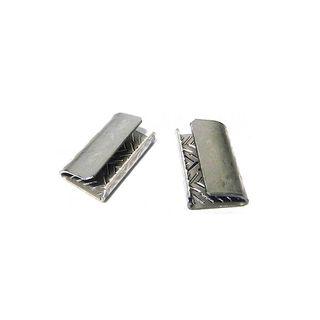 Serrated Open Seals 12mm PET HD1000/Bx