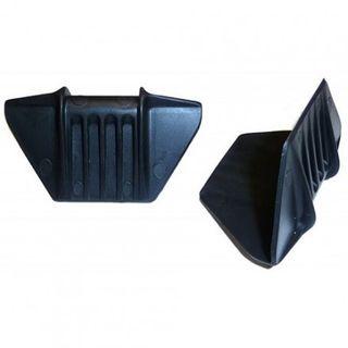 Plastic Edge Protector Black 62mm x 30mm x 30mm 1000/Box