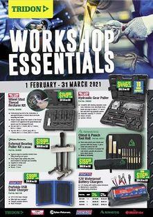 Workshop Essentials March 21