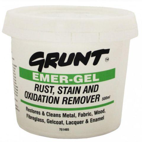GRUNT EMERGEL RUST/STAIN REMOVER 500ML