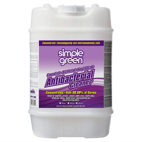 SIMPLE GREEN ANTI- BACTERIAL CLEANER CONC 20L