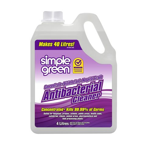 SIMPLE GREEN ANTI- BACTERIAL CLEANER CONC 4L
