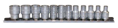 TENG 13PC SOCKET SET RAIL 1/4DR