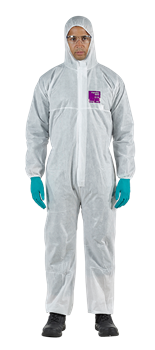 ALPHATEC 2000 STD  DISPOSABLE COVERALL - LARGE