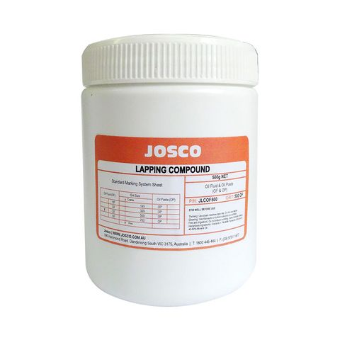 JOSCO OIL LAPPING COMPOUND 320G 500GMS