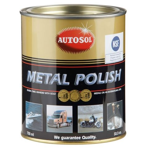 AUTOSOL METAL POLISH  750ML / 1KG TIN