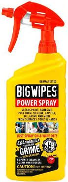 BIG WIPES POWER SPRAY 1L TRIGGER