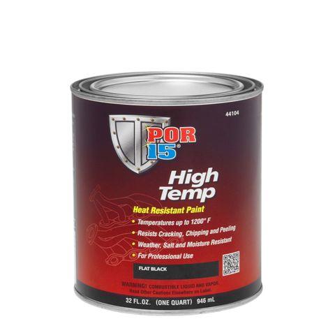 POR15  HIGH TEMP 1200F FLAT BLACK 946ML