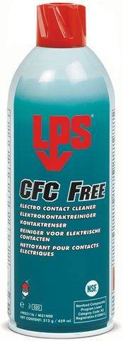 LPS CRC FREE CONTACT CLEANER 312G AEROSOL