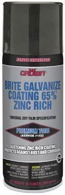CROWN BRITE GALVANIZE 65%  ZINC RICH  369G