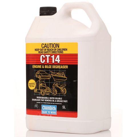 CHEMTECH CT14 BILGE & ENGINE CLEANER 5L