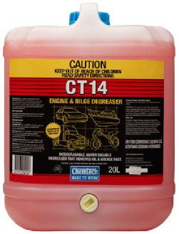 CHEMTECH CT14 BILGE & ENGINE CLEANER 20L