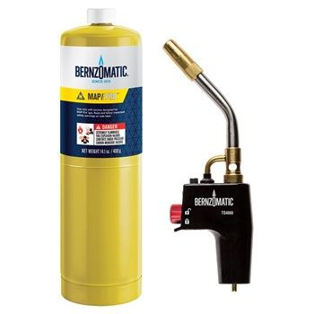 BERNZOMATIC TORCH HEAD + CYL  TS4000TK