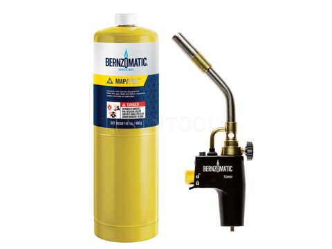 BERNZOMATIC TORCH HEAD + CYL  TS8000TK