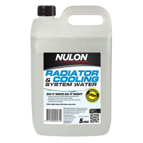 NULON / RADTECH DEMINERALISED BATTERY WATER 5L