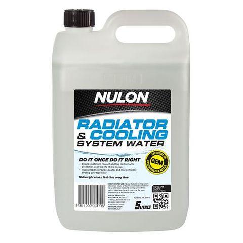NULON / RADTECH DEMINERALISED BATTERY WATER 5L